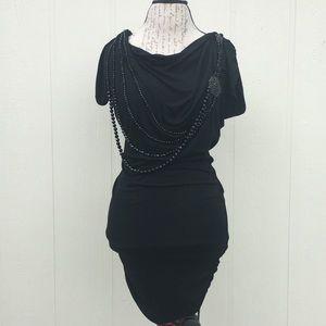 Entro Sexy Black Mini Dress